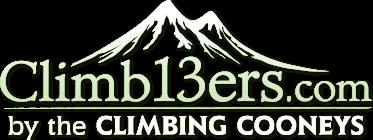 Climb13ers.com by The Climbing Cooneys - LOGO