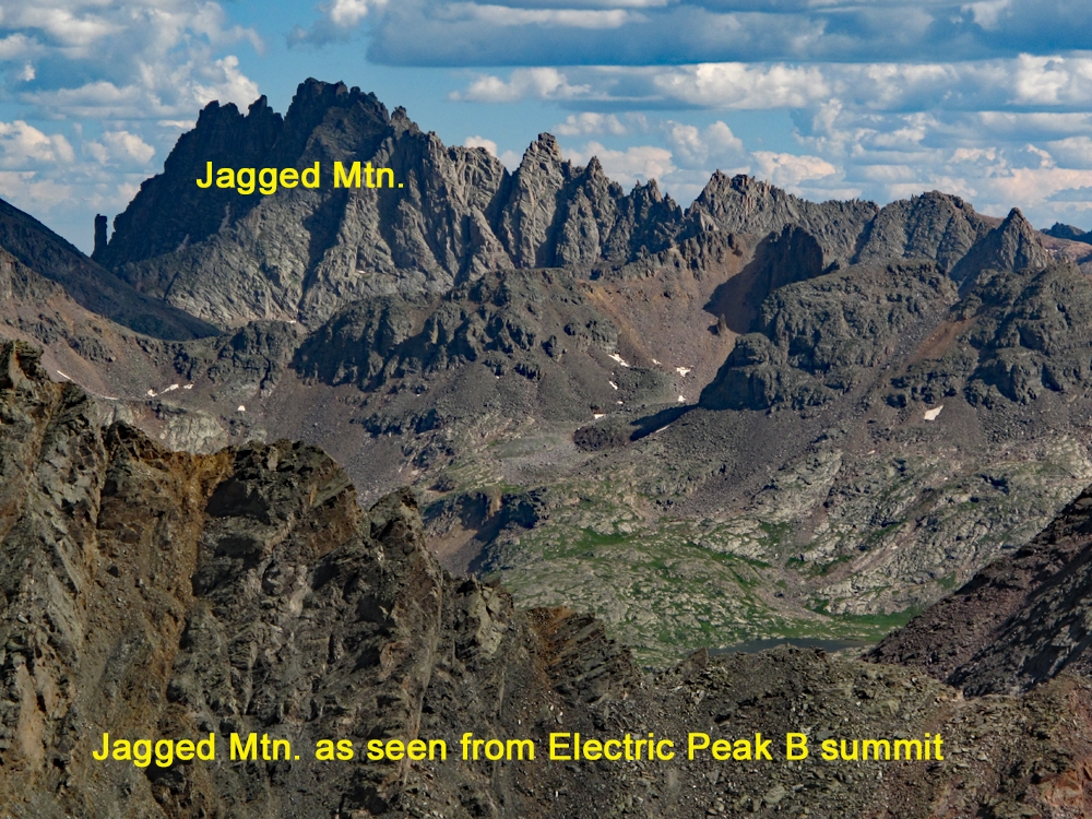Jagged Mountain - 13,824