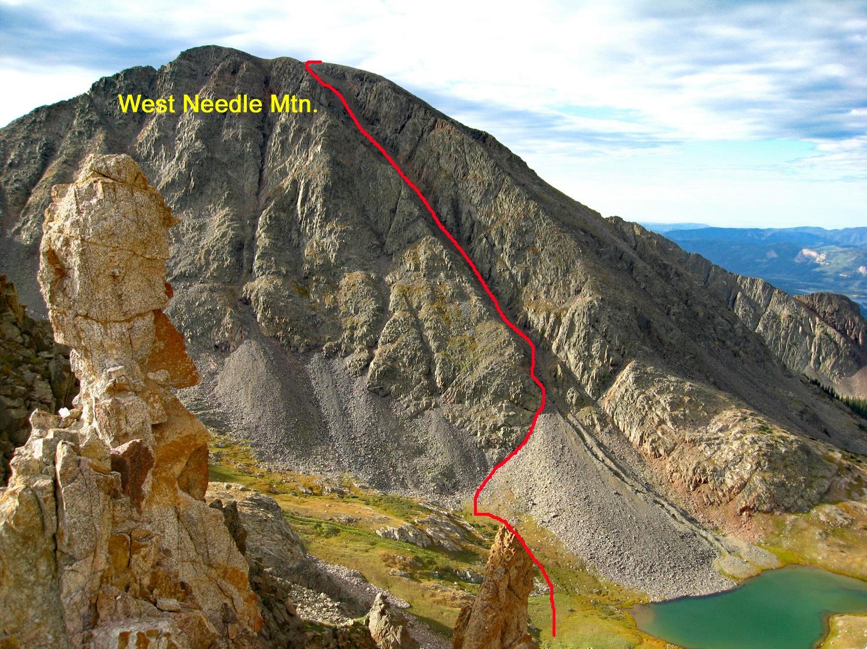 West Needle Mountain - 13,062