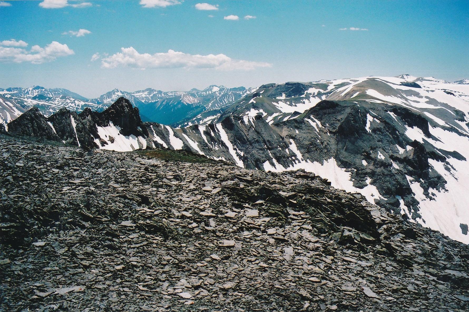 Hayden Mountain, North - 13,139