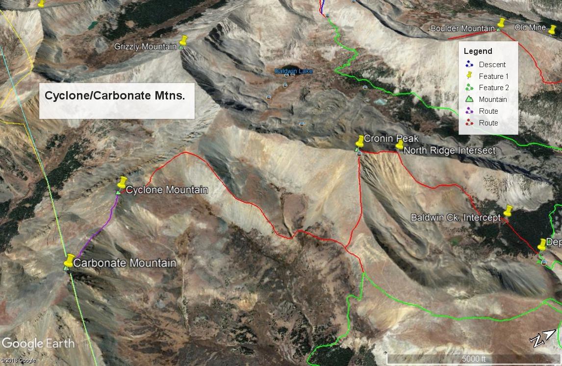 Carbonate Mountain - 13,663