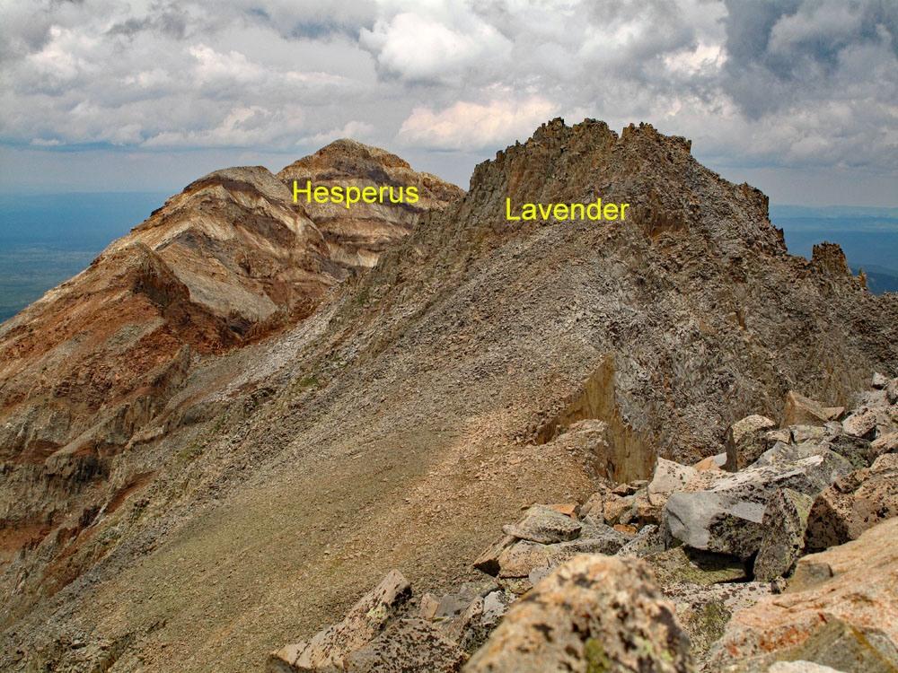 Lavender Peak - 13,220