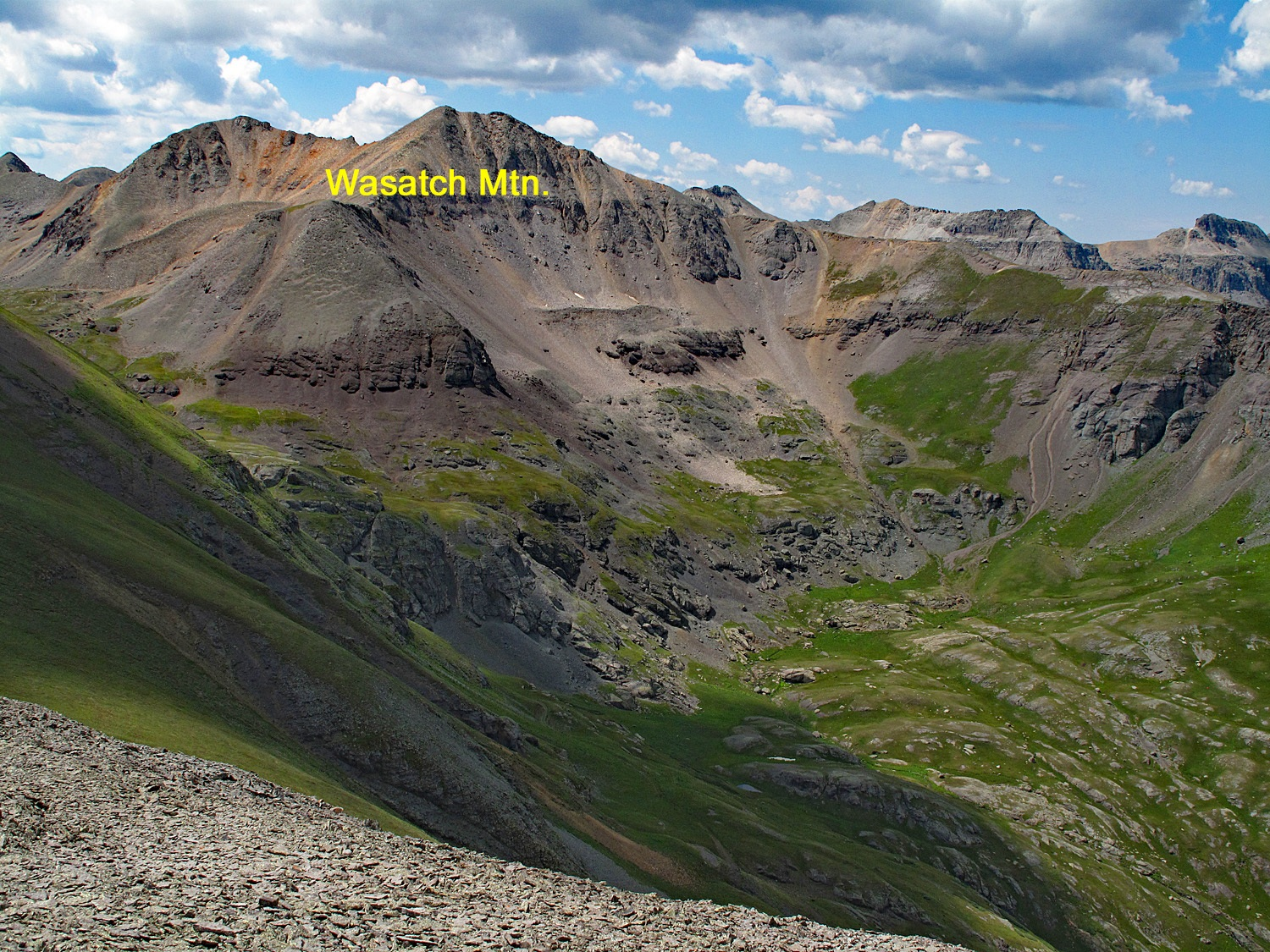 Wasatch Mountain - 13,555