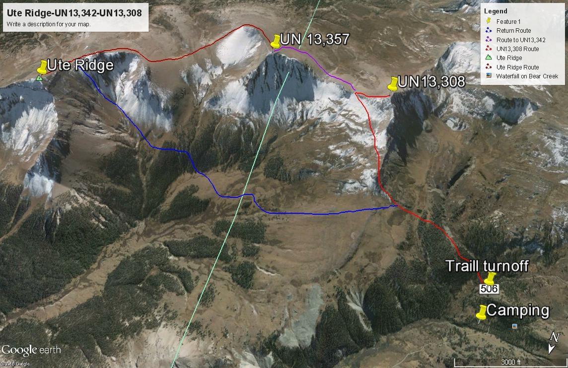 Ute Ridge - 13,455