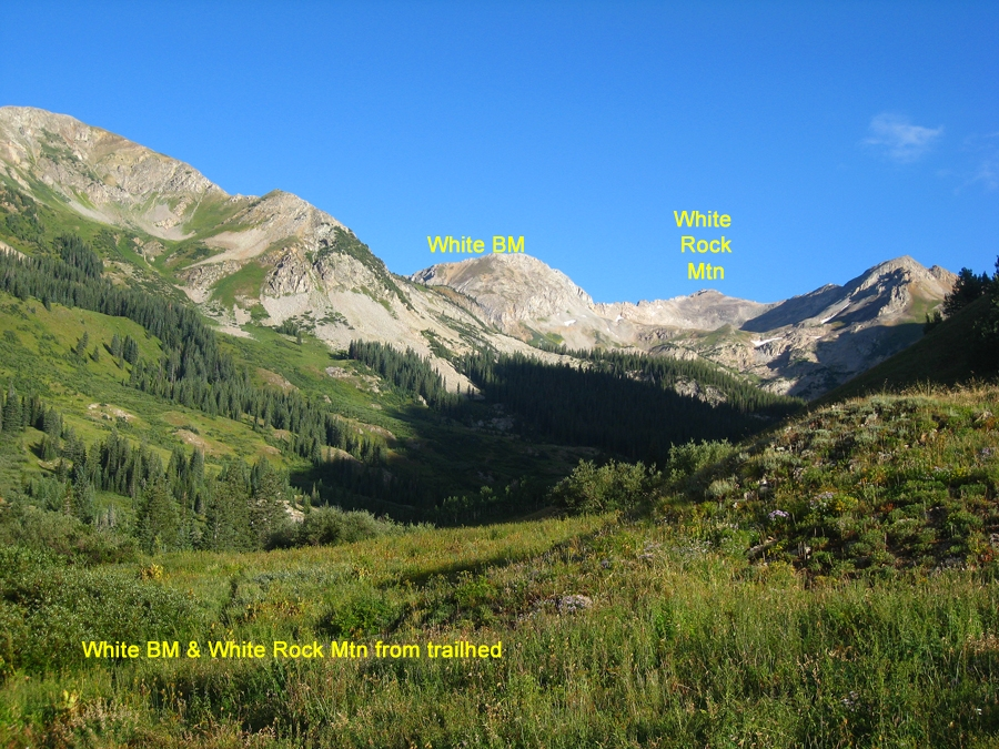 White Rock Mountain - 13,540