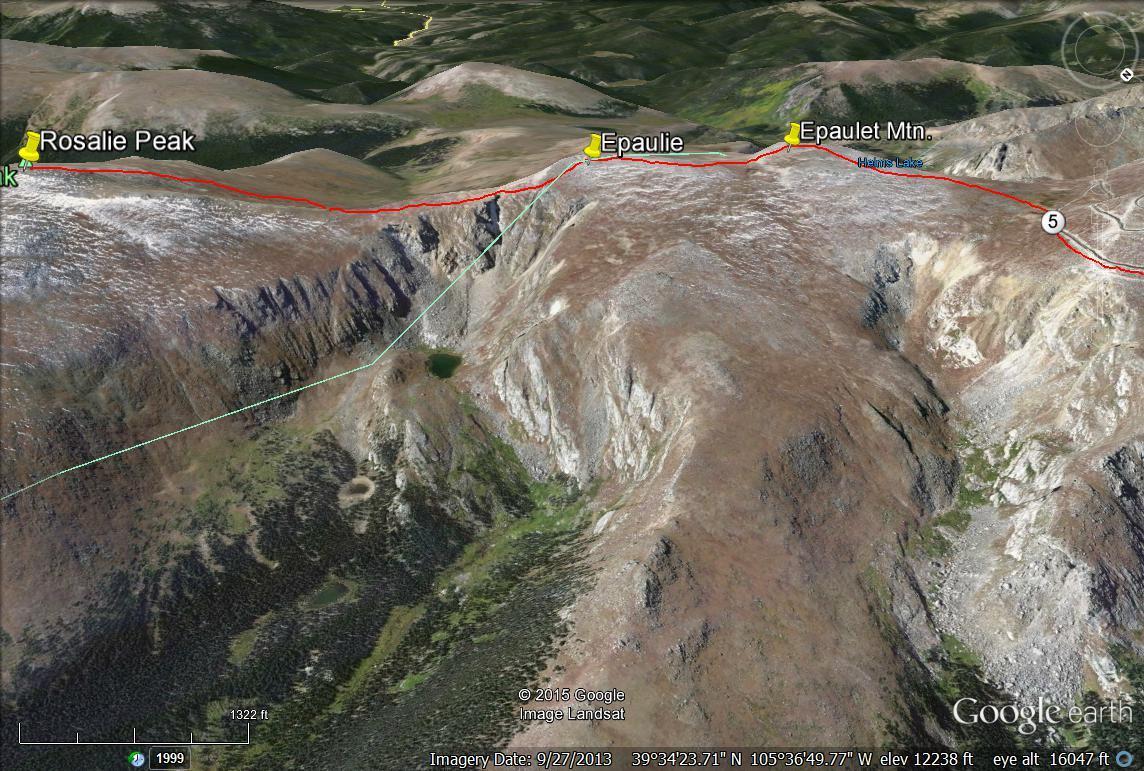 Rosalie Peak - 13,575