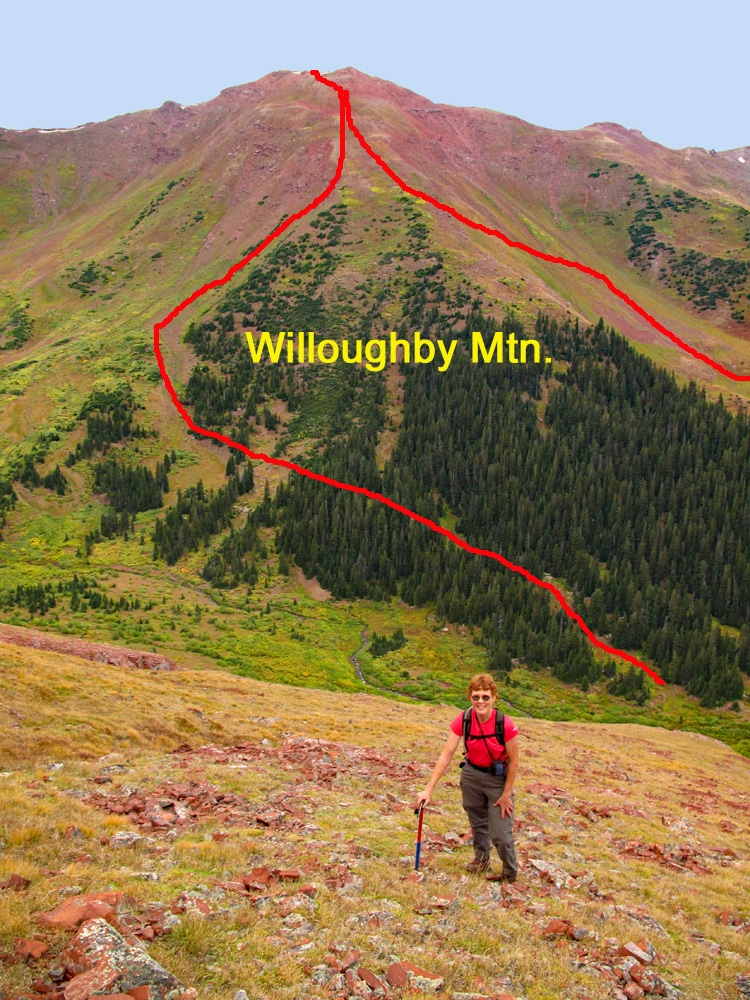 Willoughby Mountain - 13,142