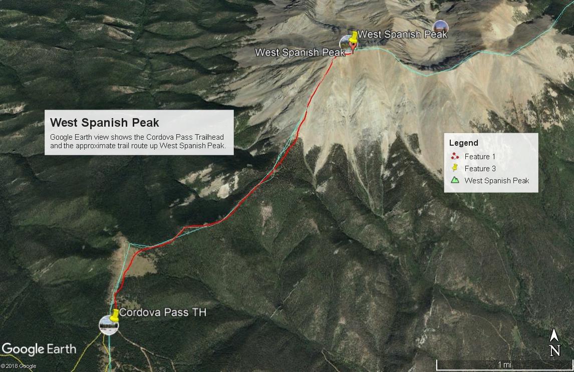 West Spanish Peak - 13,626