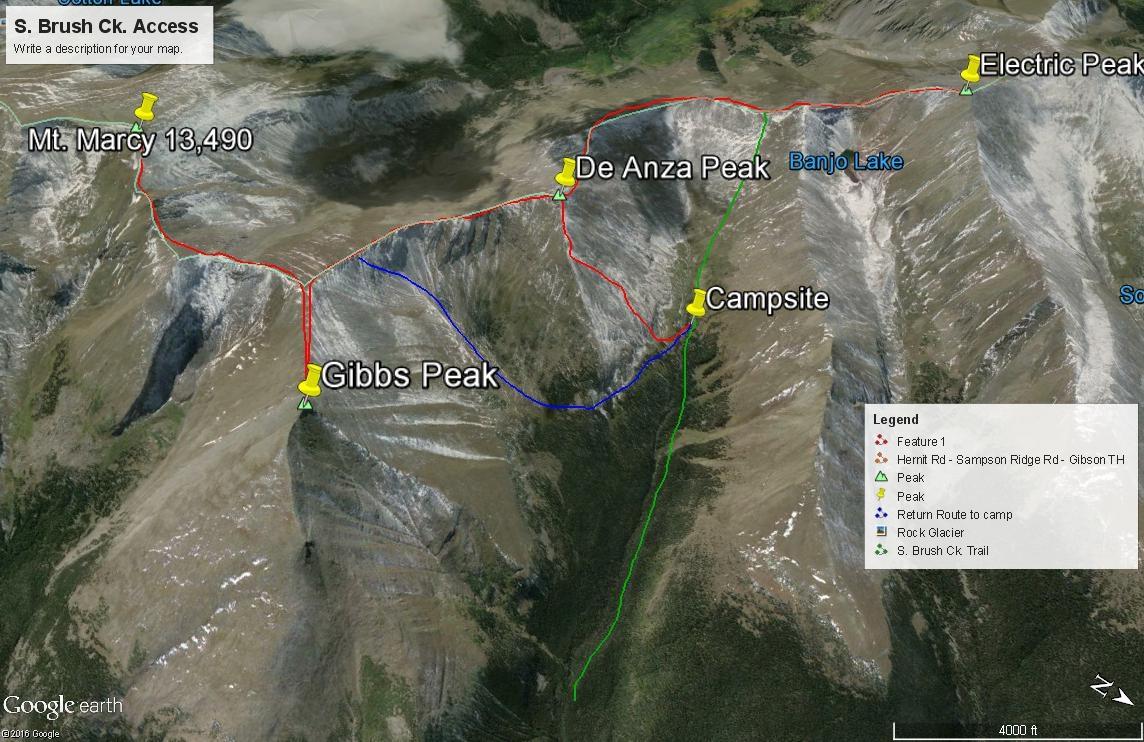 De Anza Peak - 13,362