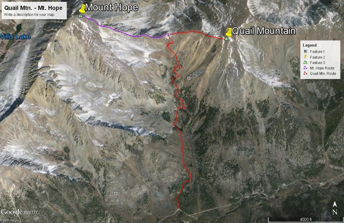 Quail Mountain - 13,461