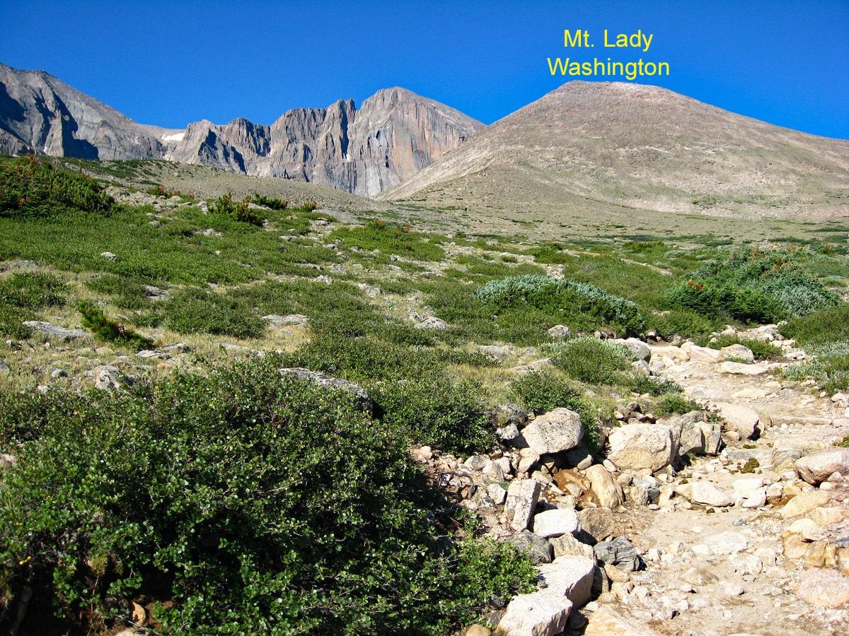 Mount Lady Washington - 13,281