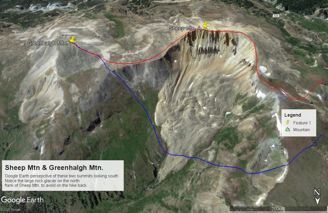 Greenhalgh Mountain - 13,220