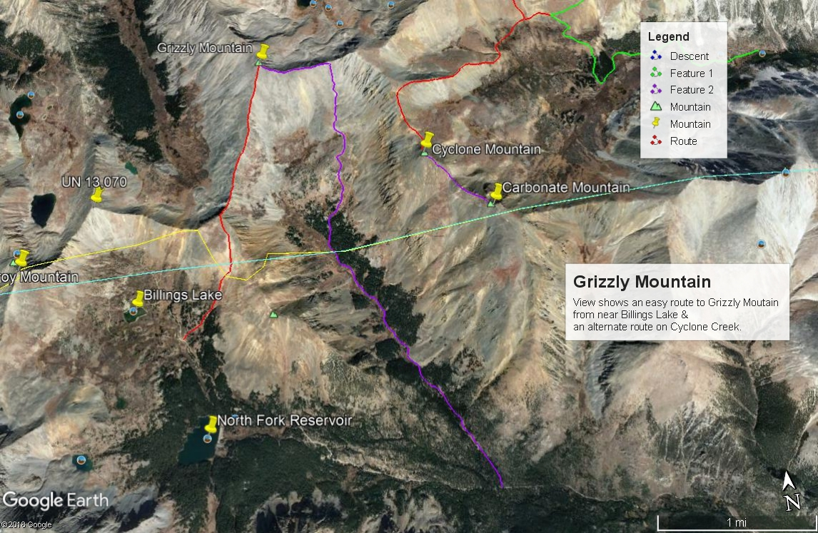Grizzly Mountain - 13,708