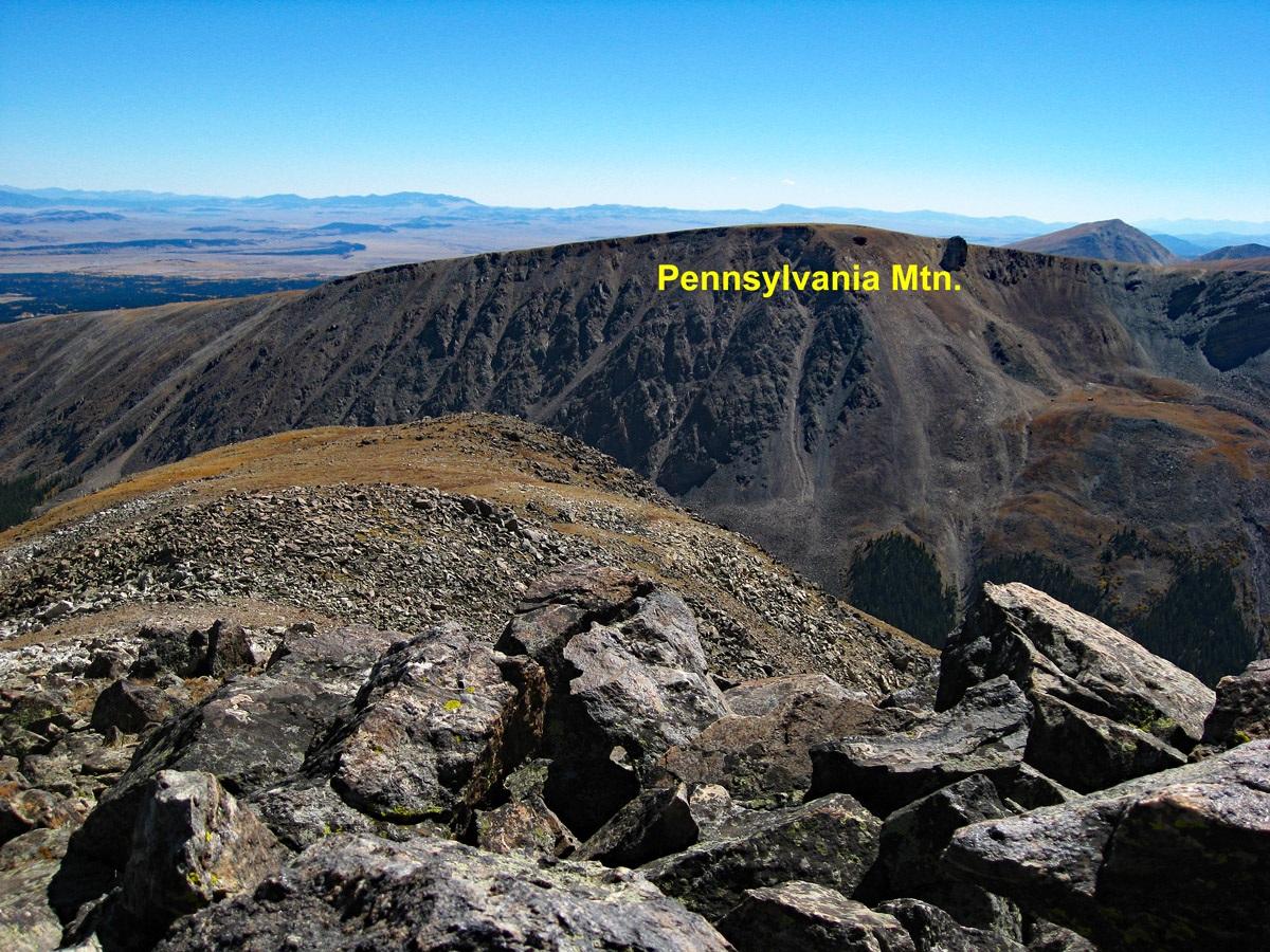 Pennsylvania Mountain - 13,006