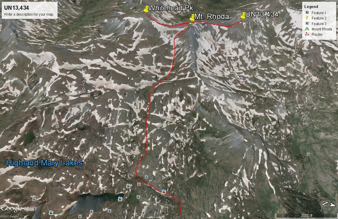 Mount Rhoda - 13,402