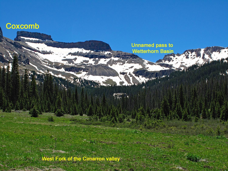 Coxcomb Peak - 13,656