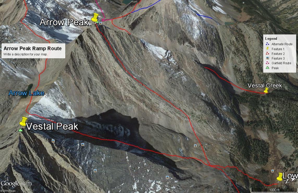 Arrow Peak - 13,803