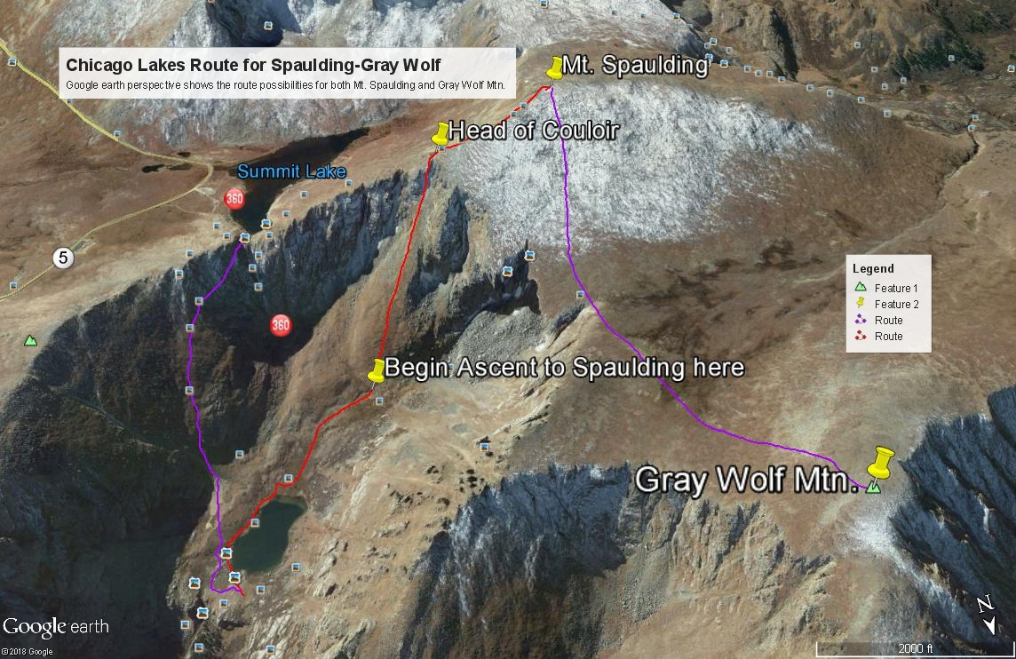 Gray Wolf Mountain - 13,602