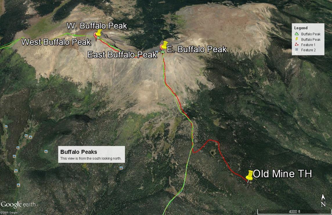East Buffalo Peak - 13,300