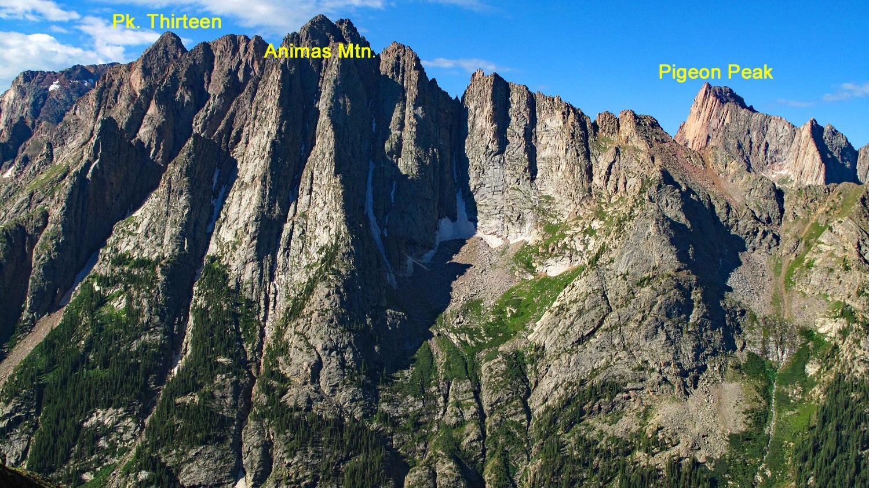 Animas Mountain - 13,786