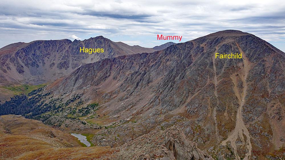 Mummy Mountain - 13,425