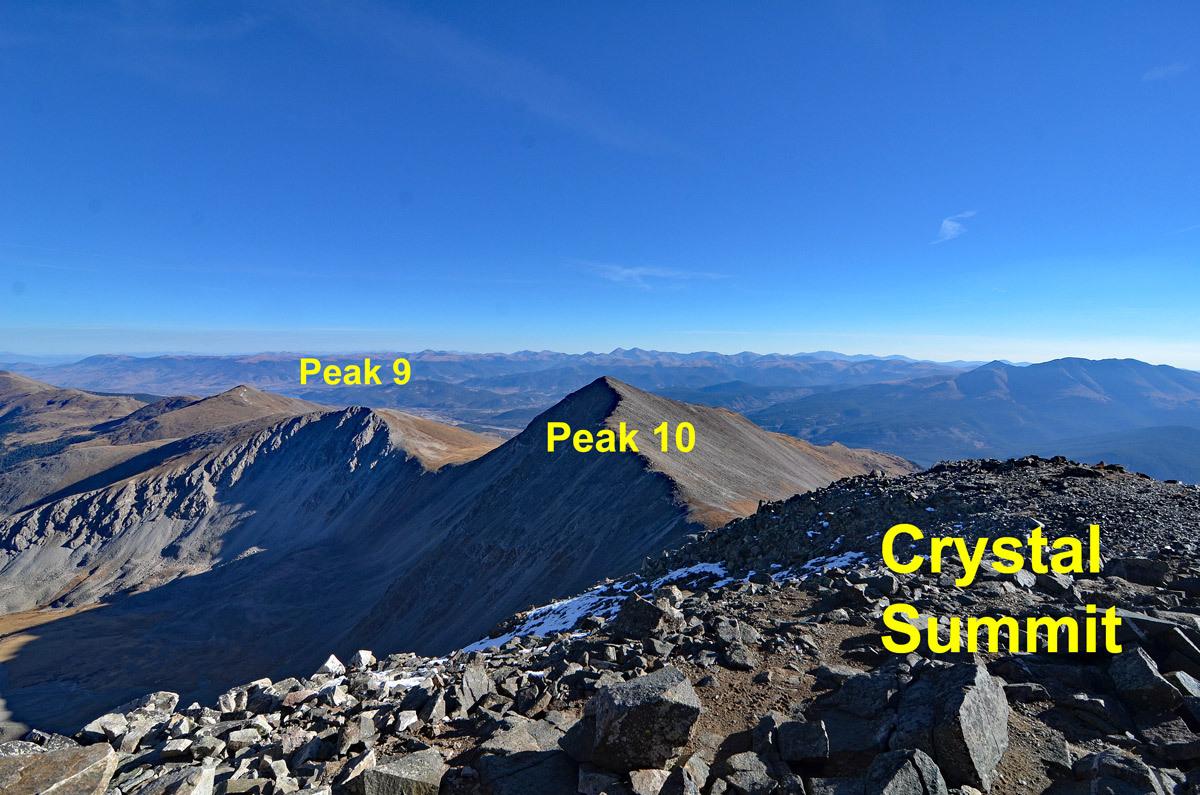 Peak 10 - 13,633