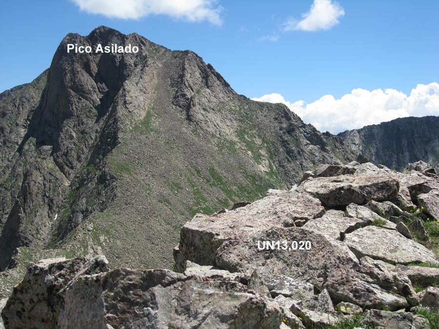 Pico Asilado - 13,611