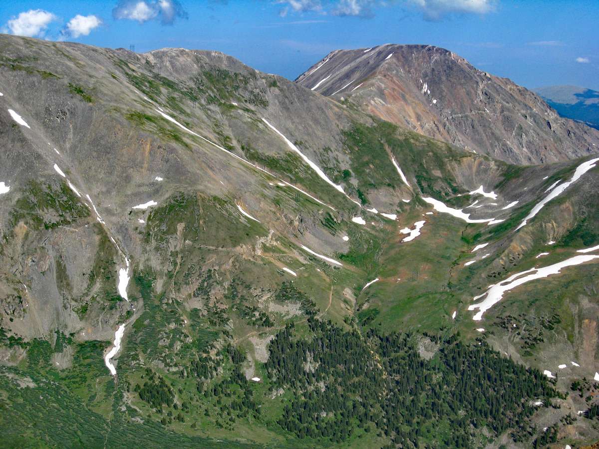 Square Top Mountain - 13,794