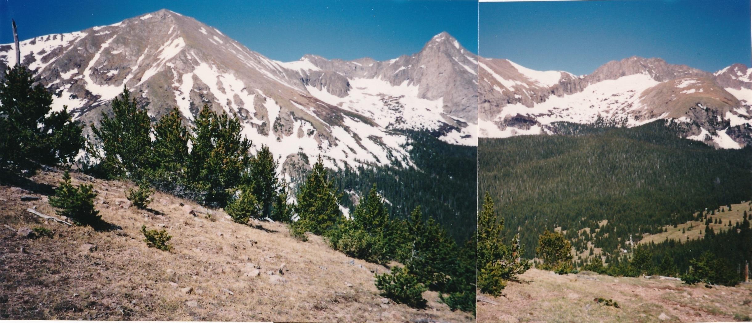 Tijeras Peak - 13,604