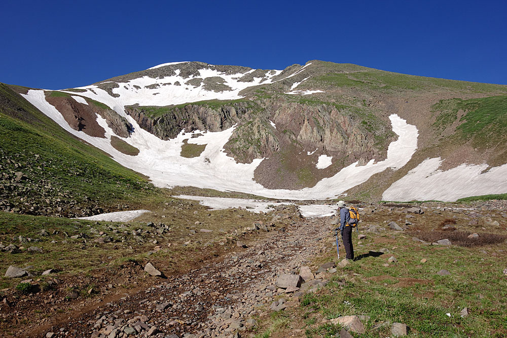 Trinchera Peak - 13,517