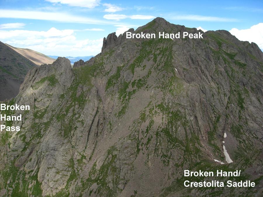 Broken Hand Peak - 13,573
