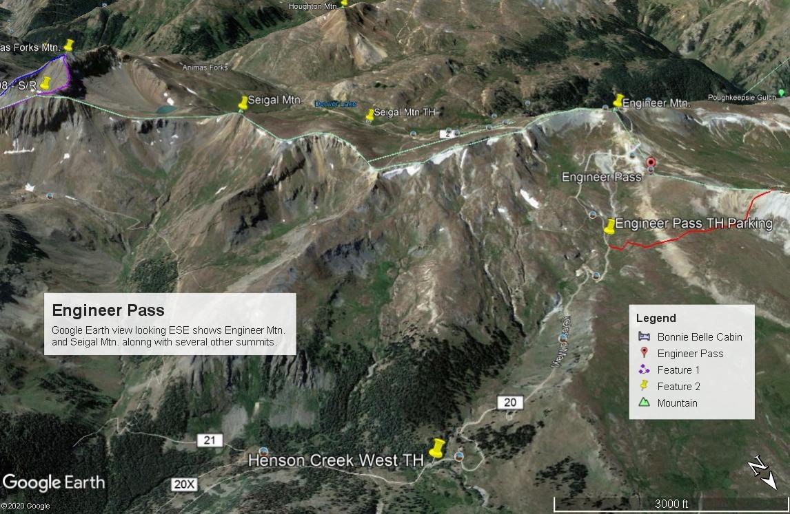 Seigal Mountain - 13,274
