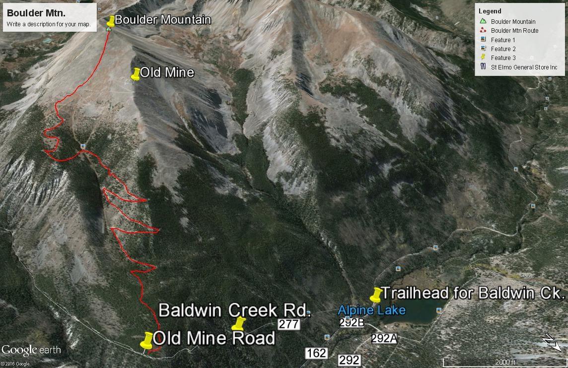 Boulder Mountain - 13,528