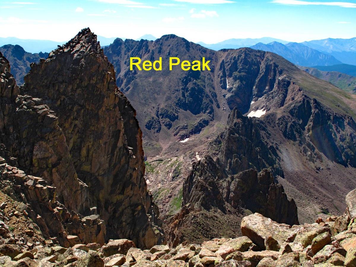 Red Peak - 13,189