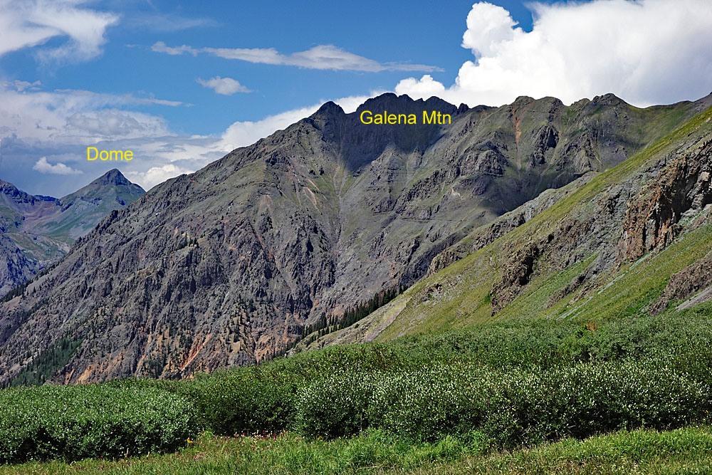 Galena Mountain - 13,300