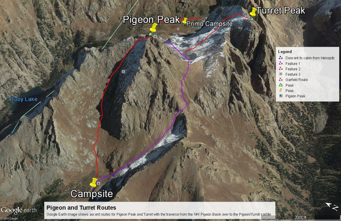 Turret Peak - 13,835