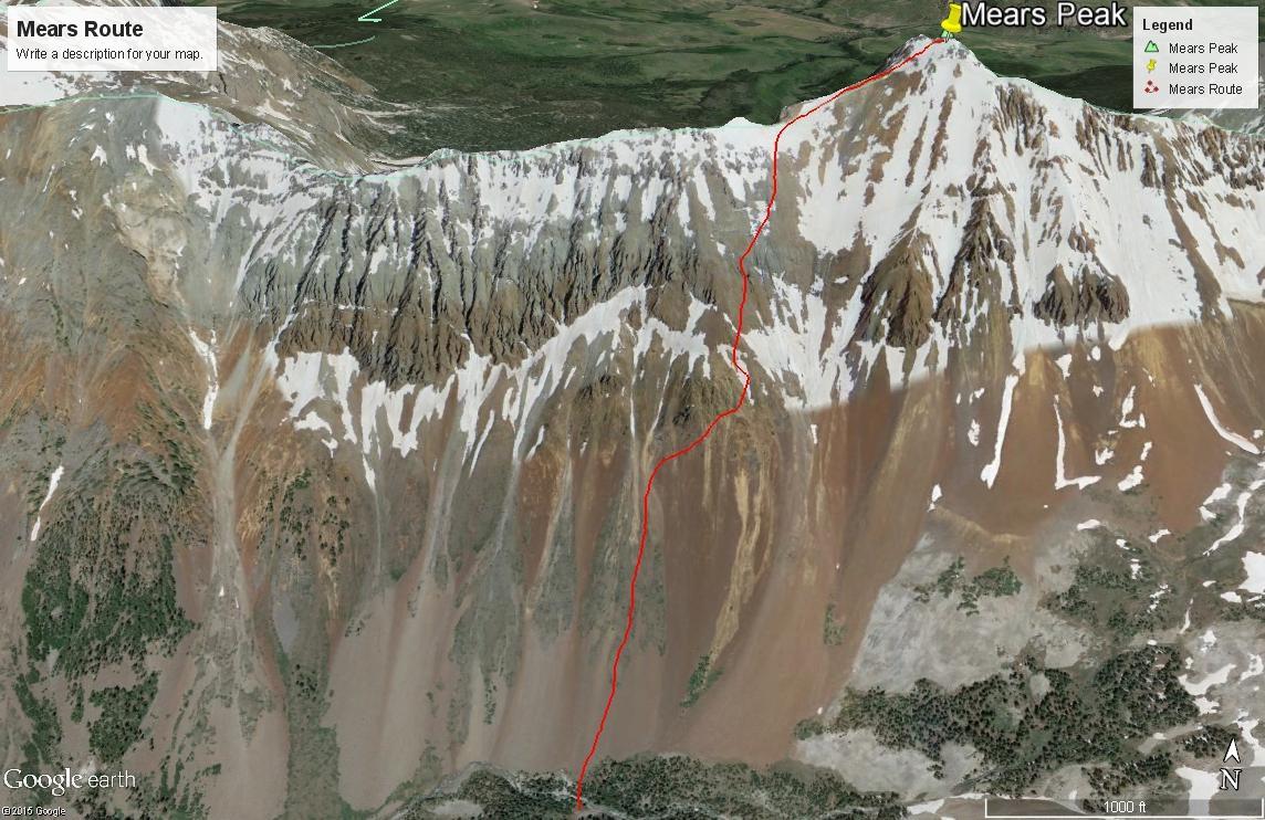 Mears Peak - 13,496