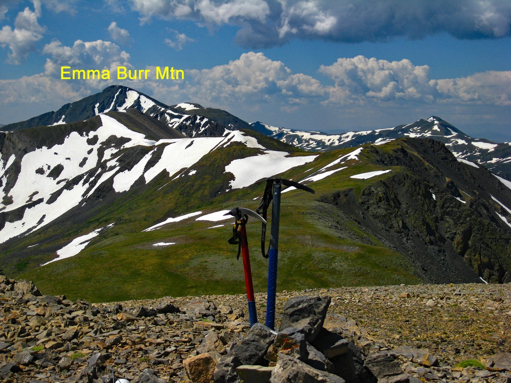 Emma Burr Mountain - 13,538