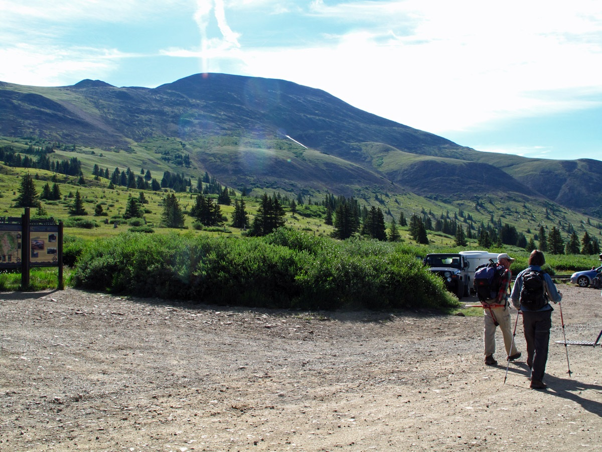 Boreas Mountain - 13,082