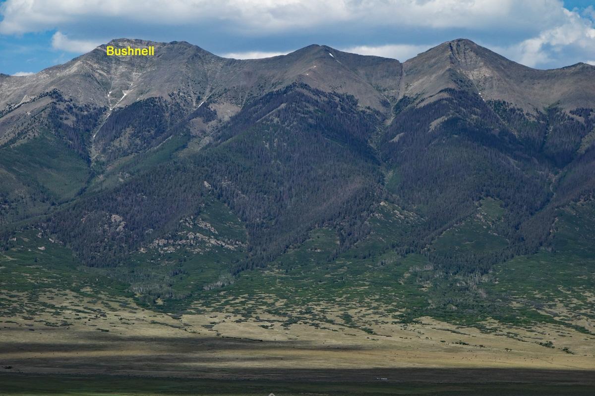 Bushnell Peak - 13,105
