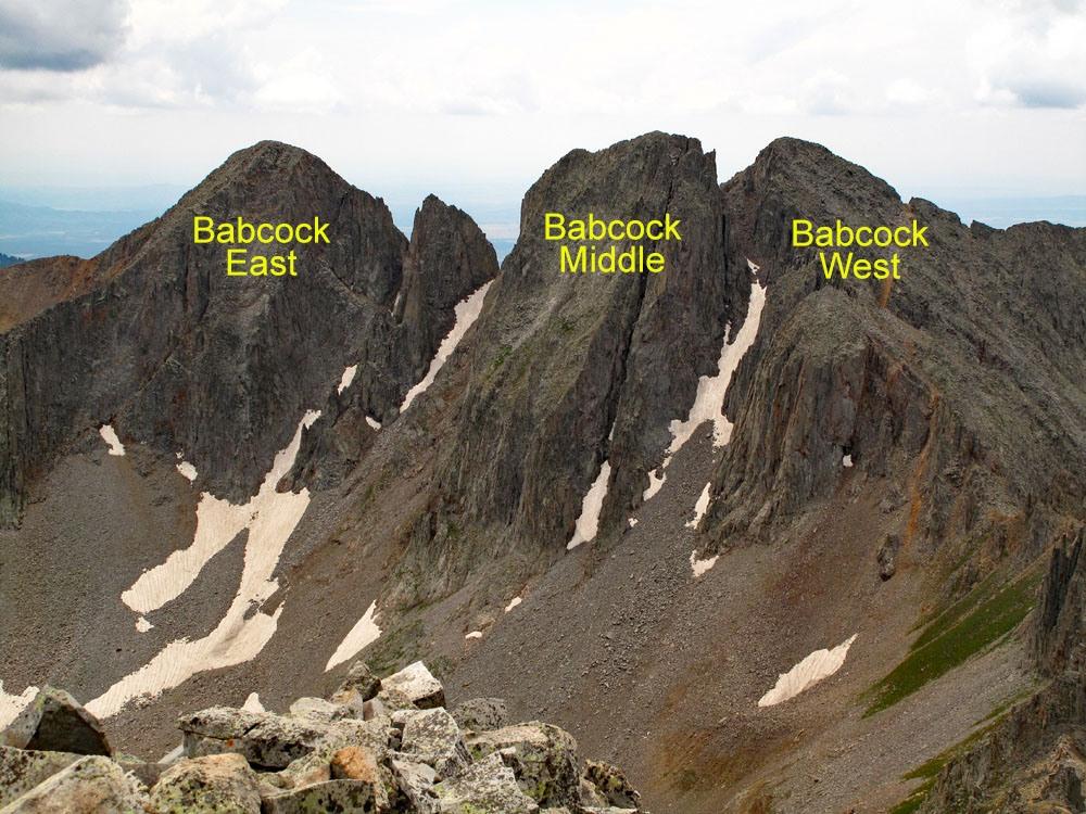 Babcock Peak - 13,180