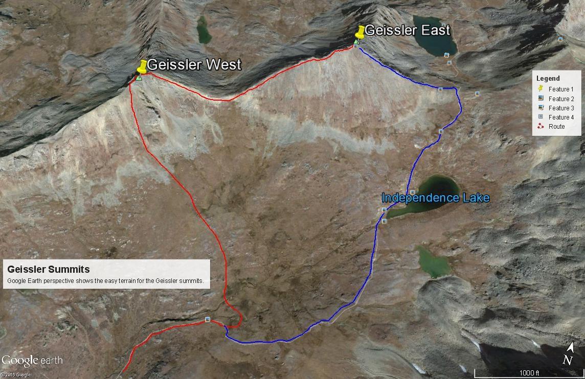 Geissler Mountain East - 13,380
