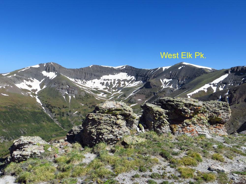 West Elk Peak - 13,035