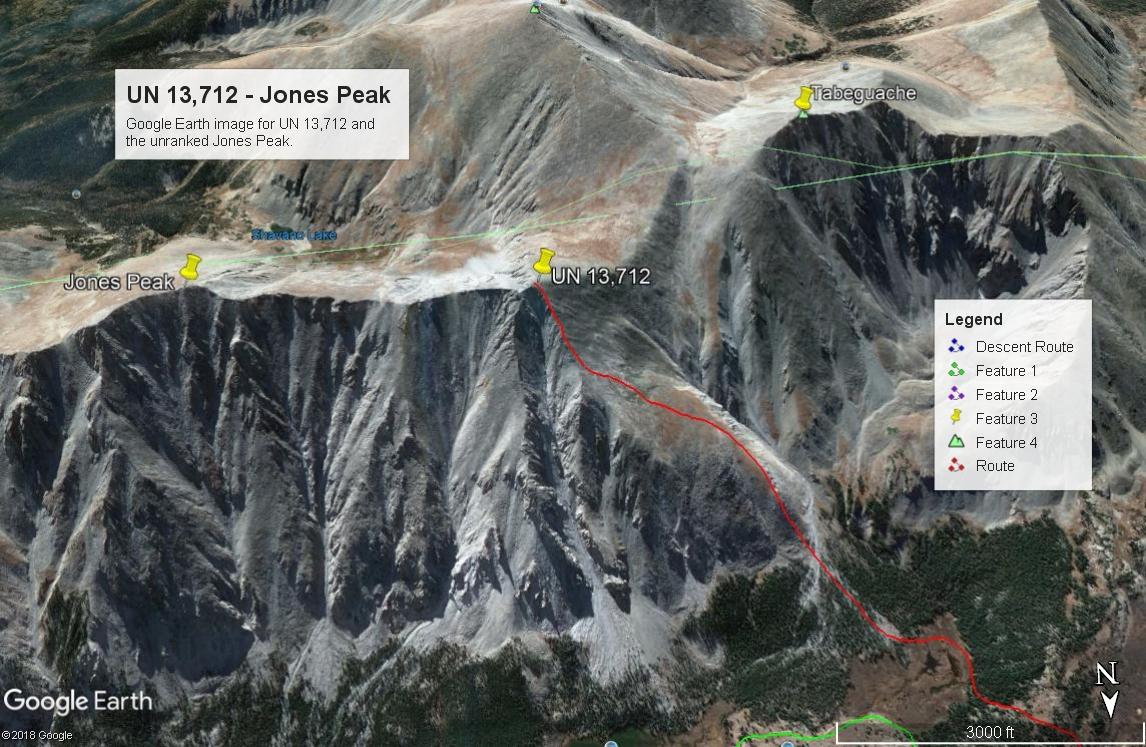 Jones Peak - 13,604