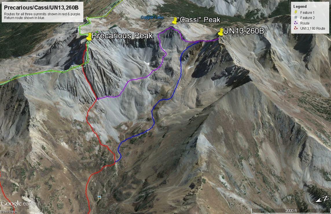 Precarious Peak - 13,380