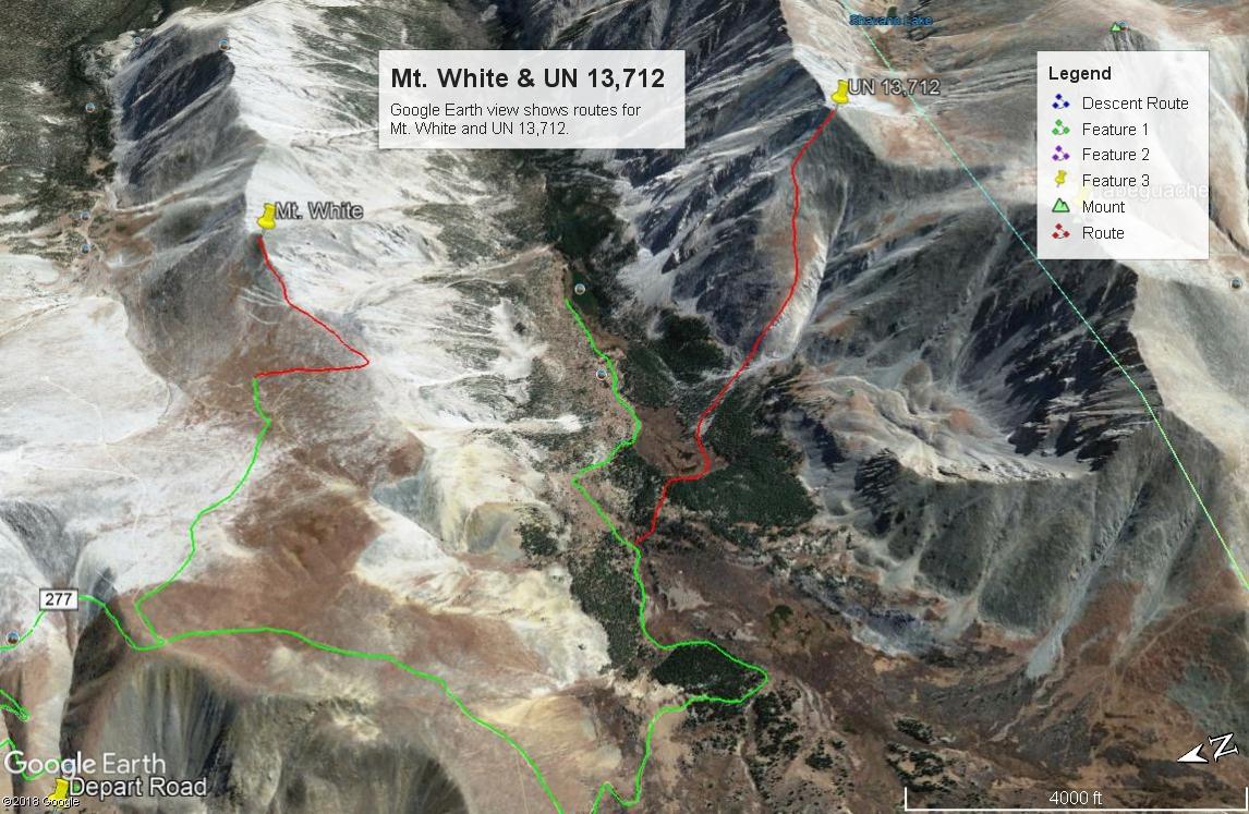 Mount White - 13,667