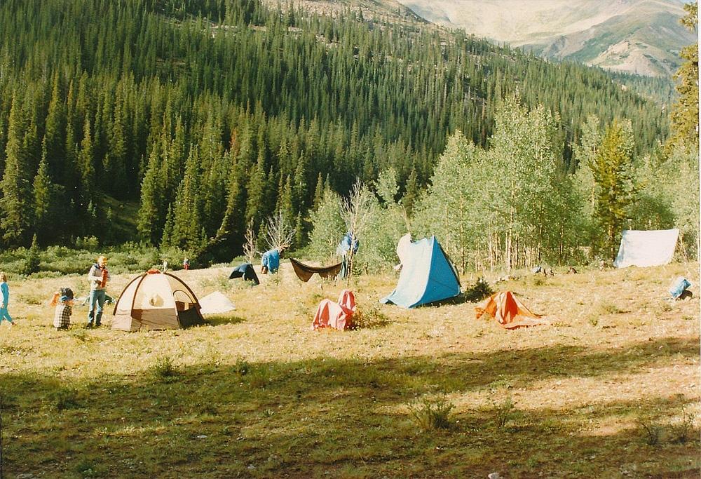 Pine Creek camp