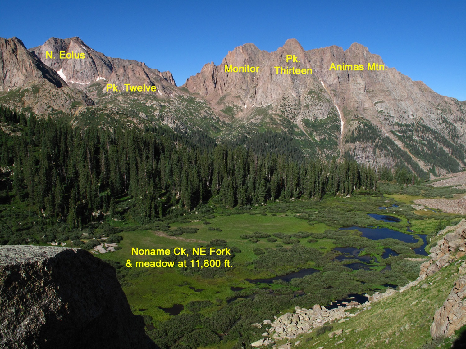 South Fork of Noname Ck.