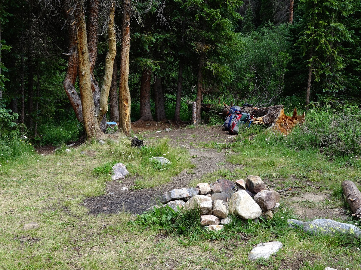 Trinity Creek Campsite