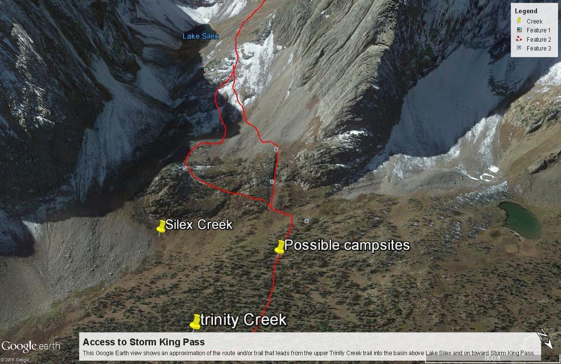Storm King Pass Access